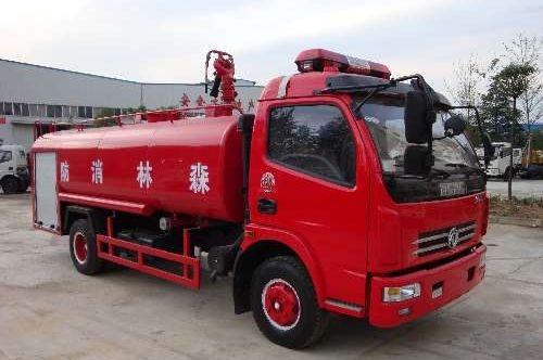 5吨森林消防车